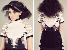 Ioana Ciolacu Miron - ss 2014 Stella Mccartney, Designers, Ruffle Blouse, Tops, Women, Fashion, Moda, Fashion Styles, Fashion Illustrations