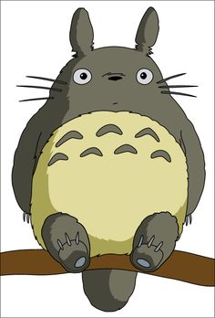 The adorable Totoro from Studio Ghibili's film My Neighbor Totoro.