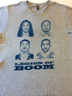 Legion of Boom Shirt , Seattle Seahawks Richard Sherman , Kam Chancellor , Earl Thomas , Brandon Browner , Maxwell