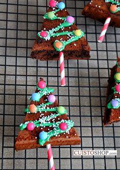 Brownie sapin gourmand