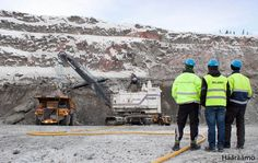 Open-pit mine Aitik, Gällivare, Sweden