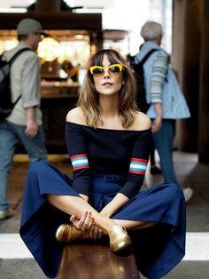 Megan Ellaby in Covent Garden