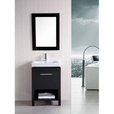 Design Element New York 24 Contemporary Bathroom Vanity Wayfair