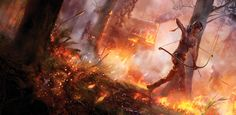 Tomb Raider 2013 - Concept art.