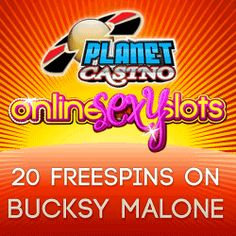 Planet Casino give new players 20 free slot spins! yeah!