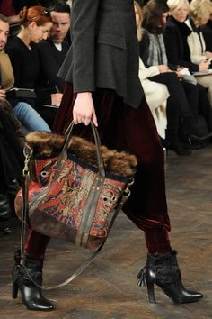 Accessory of the Day: Ralph Lauren's Carpet Bag