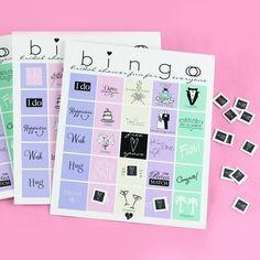 Bridal Shower Bingo – WhereBridesGo.com