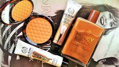 The Body Shop Honey Bronze Bronzing Powder, The Body Shop Honey Bronze Shimmering Dry Oil, The Body Shop All In One Instablur, The Body Shop All In One BB Cream
