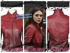 The Avengers Elizabeth Olsen Scarlet Witch Jacket