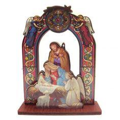 Nativity scene, measuring 11cm | online sales on HOLYART.co.uk