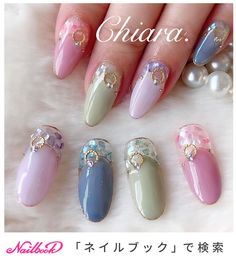 Japan Nail, Human Doll, Japanese Nail Art, Shell, Mani Pedi, Short Nails, Nail Inspo, Nail Art Designs, Arts And Crafts