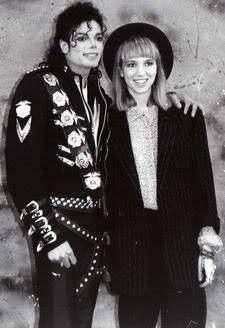 <3 Michael Jackson <3 & 80s singer Debbie Gibson (she goes by Deborah now though)