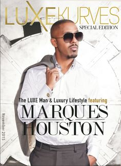 Marques Houston wearing De Marcus- Smokey Quartz