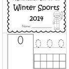 This is a booklet to review and practice counting and number recognition 0-10. It has a WINTER OLYMPIC GAMES theme. Cut the pages, stack in order, ...