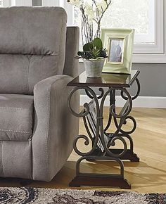 Carlyle Chairside End Table with Electrical Outlet and File Storage Drawer  by Signature Design by Ashley   Becker Furniture World   End Table Twin  Carlyle Chairside End Table with Electrical Outlet and File  . Ashley Furniture Laflorn Chairside End Table. Home Design Ideas