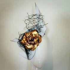 Golden Rose in the Wind - Jill & Jack Millinery