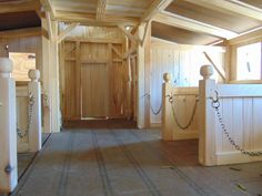 breyer horse barn with 7 stalls and Tack Room