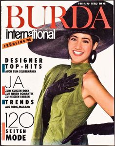 Burda International 1988 nr 1 cover