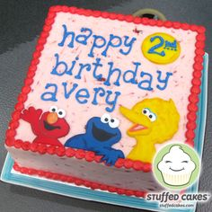 sesame street birthday sheet cakes | You can see that whatever the budget, we can bring your theme to life!
