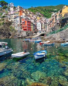 The southernmost town in Cinque Terre has a similar look to Manarola, but an even livelier nightlife in the summer! Get our travel guide to the region at the link in bio. Travel And Leisure, Us Travel, Places To Travel, Travel Destinations, Travel Guide, Dream Vacations, Vacation Spots, Wonderful Places, Beautiful Places