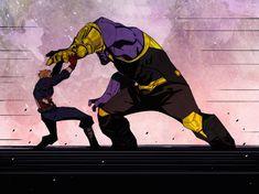 Avengers infinity war captain america vs thanos