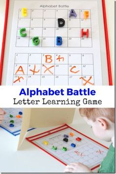 FREE Alphabet Battle