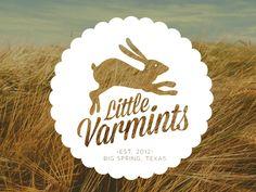 Little Varmints   Branding by Ashley Dugan, via Behance
