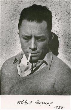 Albert Camus. .
