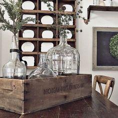 AFH Found: Cherry Vintage Wooden Crates | Antique Farmhouse