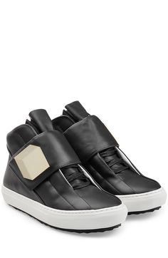 super popular 9c735 10f2f Leather Sneakers detail 0 Pierre Hardy, Baby Shoes, Edc By Esprit, Sneaker  High
