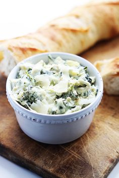 Rich and incredibly cheesy restaurant style spinach artichoke dip made in your slow cooker!