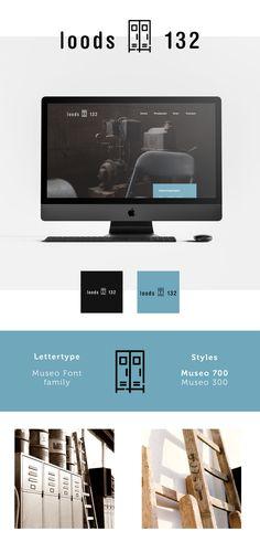 Brand Identity - Branding - Huisstijl voor Loods 132 door Studio Sowieso Brand Identity, Branding, Studio, Flat Screen, Blood Plasma, Brand Management, Flatscreen, Study, Plate Display