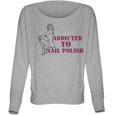 Check out this awesome nail polish inspired t-shirt design by me!