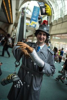 inspector gadget costume - Google Search