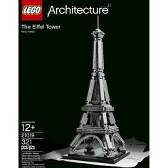 LEGO� Architecture The Eiffel Tower 21019