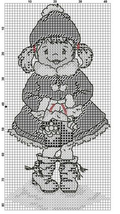 Cross Stitch For Kids, Just Cross Stitch, Christmas Minis, Christmas Cross, Xmas, Cross Stitch Embroidery, Cross Stitch Patterns, Cross Stitches, Little People