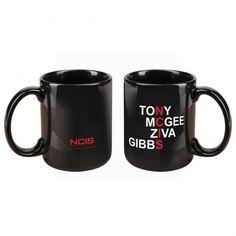 NCIS Names Mug