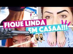 FIQUE LINDA EM CASA #3 - PROGRESSIVA, TCHAU PANCINHA E SOBRANCELHAS PERFEITAS! | KIM ROSACUCA - YouTube