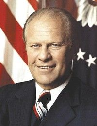 Gerald Ford   38th American president, and the only person to serve as both vice president and president without having been elected to either office.