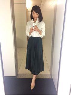 先週と今週の、Oha!4衣装。 内田敦子オフィシャルブログ「うちブロ」Powered by Ameba