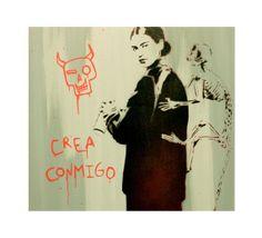 FRIDA FUTURA 2 Original Painting on Canvas Frida Kahlo Portrait 16x20 Artwork Pop Art Graffiti Inspired Acrylic and Spray Paint Portrait on Etsy, $75.00