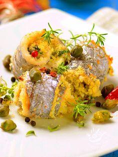 Rolls of fish spatula - Gli involtini di pesce spatola sono veramente appetitosi e portano in tavola tutto il profumo del mare con i sapori del Mediterraneo. involtinidipescespatola