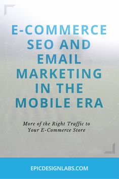 E-Commerce SEO and Email Marketing in the Mobile Era, Online marketing news, and advice from the Portland Website Design and SEO experts Street Marketing, Guerilla Marketing, Business Marketing, Internet Marketing, Online Marketing, Digital Marketing, Strategy Business, Affiliate Marketing, Marketing Website