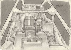 """leading from Making Aliens Ron Cobb's website says """"Unauthorised copying and distribution is forbidden."""", so where the images haven'. Spaceship Drawing, Spaceship Art, Spaceship Concept, Aliens Colonial Marines, K Om, Sci Fi Environment, Alien Concept Art, Sci Fi Horror, Modern Artists"""
