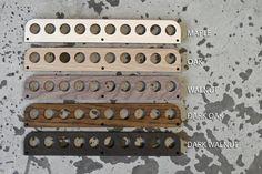 Test Tube Spice Rack Glas-Teströhren Kochen & Wissenschaft   Etsy Spice Rack Glass, Test Tube Spice Rack, Design Lab, Modern Minimalist, Minimalist Design, Wall Anchors, Deep Conditioner, Laser Cut Wood, Dark Walnut