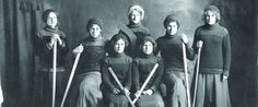Women's Hockey at the University of Alberta    Though women's hockey didn't become a recognized varsity sport in Canadian interuniversity athletics until 1997, women at the University of Alberta had been playing hockey with enthusiasm and dedication for decades.