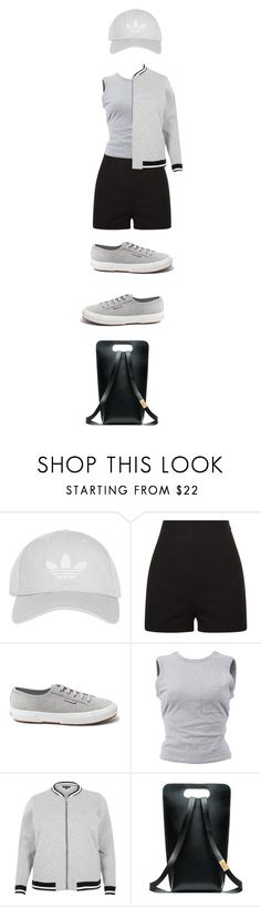 """""""Bomber Jacket"""" by bonolon on Polyvore featuring Topshop, Superga, T By Alexander Wang and River Island"""