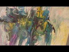 Von Abstrakt zu Floral, Teil 1 , wie sich Bilder spontan verändern können - YouTube