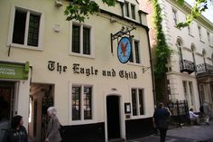 The Eagle and Child (Oxford, England) - Notable Patrons: J.R.R. Tolkien, C.S. Lewis | 12 Historic Bars Every Book Nerd Needs To Visit