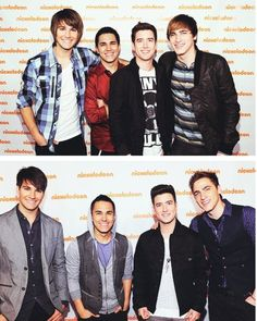 When you look at Big time rush back in 2010, and then you look at them now. They don't look as young as they used to anymore and they are older